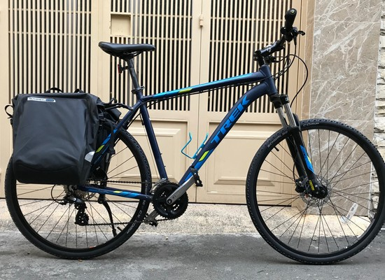 Trek bikes for rent in Saigon